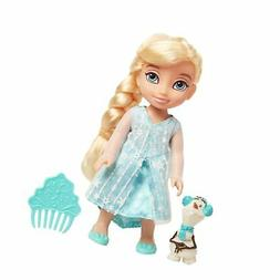 Disney Frozen Petite Elsa Doll with Olaf & Comb!