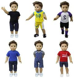 ZITA ELEMENT 6 Sets American Boy Clothes | Logan Outfits for