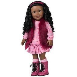 Adora Amazing Girls 18-inch Doll, ''Furry & Fabulous Jada''