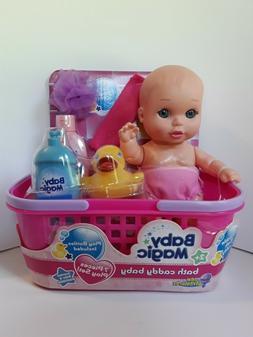 doll and bath caddy baby 7 piece