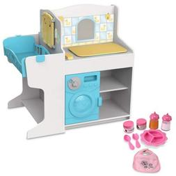 Melissa & Doug Doll Care Play Center & Accessories Set
