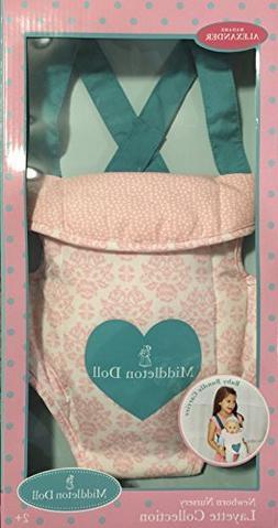 Madame Alexander Baby Doll Carrier - Pink Floral