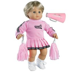 Sophia's 15 inch baby doll Clothing Cheerleader Outfit, 3 Pc