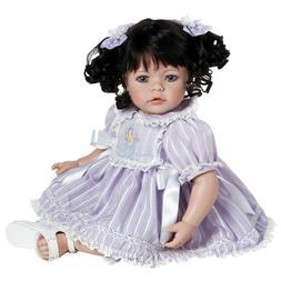 "Adora Baby Doll, 20 inch ""Lavender Fields"" Dk. Brown Hair/Bl"
