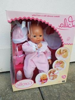 """Corolle Doll Mon Bébé Classique 17"""" Baby Doll---Lila w/sou"""