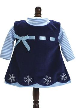 Sophia's 15 Inch Doll Clothing Outfit 2 Pc. Set of Navy Snow