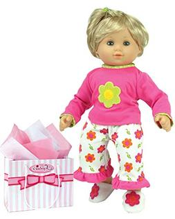 Sophia's 15 Inch Baby Doll Pajamas, Fits American Girl Bitty