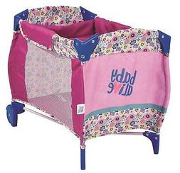 """Baby Alive Doll Play Yard for 18"""" dolls Includes a bassinet/"""