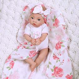 Paradise Galleries Newborn Baby Doll 16 inch Reborn Preemie,
