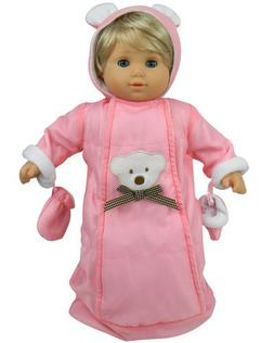 Sophia's 15 Inch Doll Clothes Baby Doll Snowsuit Set, Fits 1