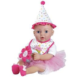 "Adora ""Birthday Baby Gift Set"" 16 Inch Baby Doll Soft, Cuddl"