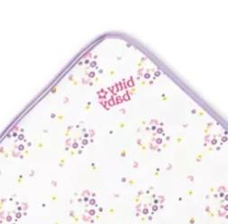 AMERICAN GIRL BITTY BABY DOLL WHITE  FLORAL BITTY BLANKET &