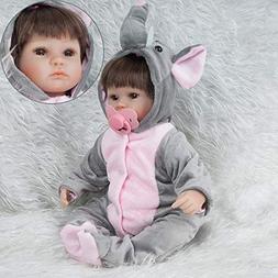 Icocol Newborn Dolls, Real Newborn Handmade Lifelike Baby Do