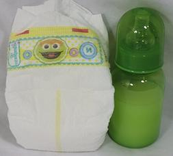 Reborn Baby Dolls Unisex Green Diaper Pamper Modified Fake F