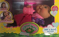 Cabbage Patch Kids Newborns Drink 'n Wet Snack Time Doll