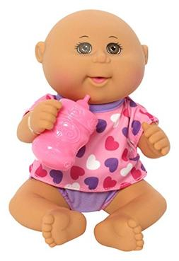 Cabbage Patch Kids Newborns drink n wet baby girl w pink hea