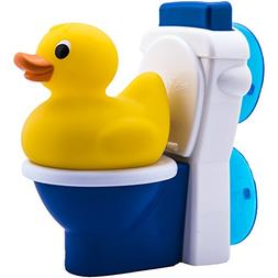 Potty Duck Potty Training Toy - Squirting Rubber Duck With F