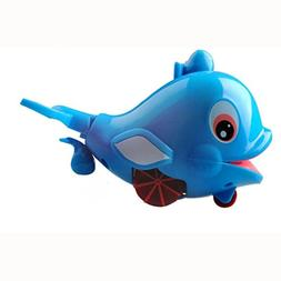 Education toys,Baomabao Born Babies Swim Dolphin Wound-Up Ch