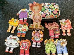 Engelbreit BABY LILAH Fabric Paper Dolls, Clothing and Acces