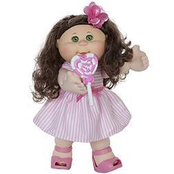 "Cabbage Patch Kids, CPK 14"" Kids - Brunette Hair/Green Eye G"