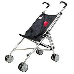 My First Umbrella Doll Stroller in Denim for Toddler New