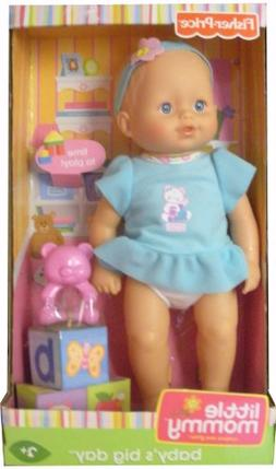 Mattel Fisher-Price Little Mommy Baby's Big Day Playtime