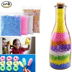Foam Balls for Slime Baomabao Colorful Styrofoam Balls Beads