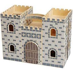 Fold Baby & Toddler Toys Go Wooden Castle Dollhouse Dolls Ho