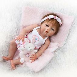 Full Body Reborn Baby Girl Dolls Newborn Lifelike Handmade S