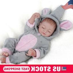 Full Body Soft Reborn Baby Dolls Vinyl Silicone Realistic Ne