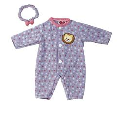Adora Giggle Time Baby Doll Floral Lion Outfit