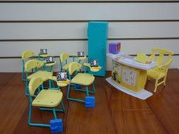 gloria Dollhouse Furniture - Classroom Play Set