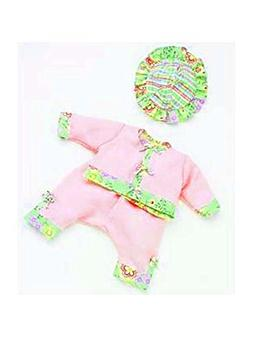 """Madame Alexander Going to the Park 14"""" Baby Doll Outfit"""