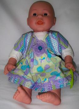 Handmade 15 & 18 in. Baby Doll Clothes, Itty Bitty, Sundress