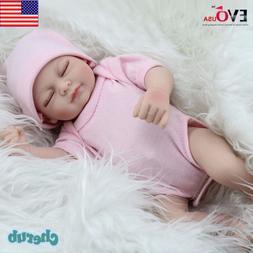 Handmade Real Looking Newborn Baby Vinyl Silicone Realistic