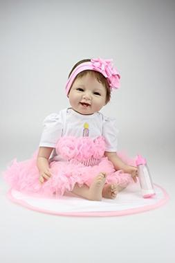 "22"" 55 CM Handmade Real Looking Realistic Reborn Baby Dolls"
