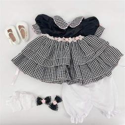 Handmade Reborn Baby Dolls Clothes for 24'' Toddler Reborn D