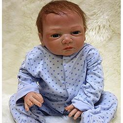 "NPK Handmade Reborn Baby Dolls boy 20"" Lifelike Soft Vinyl S"
