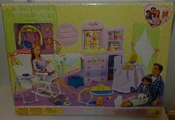 HAPPY FAMILY Barbie Doll NURSERY PLAYSET 21+pcs for Midge, R