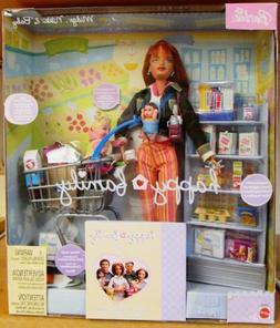 Barbie Happy Family MIDGE, NIKKI & Baby Doll GROCERY SHOPPIN