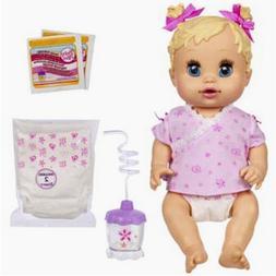 Hasbro Baby Alive Sip 'N Slurp Caucasian Doll