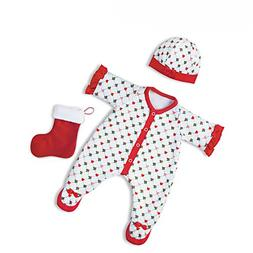 The Ashton-Drake Galleries Holiday Pajamas Baby Doll Accesso
