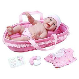 JC Toys La Newborn Realistic All Vinyl Age 2+ Baby Doll Soft