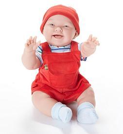 "JC Toys Nico 18"" All Vinyl Anatomically Correct Baby Boy Ber"