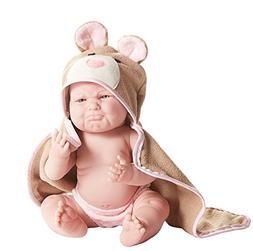 "JC Toys Pouty La Newborn Moments 17"" Vinyl Real Girl Beren"