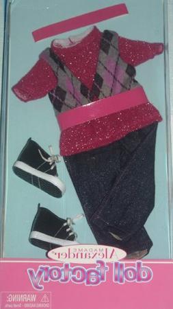 Madame Alexander Jeans & Vest Outfit