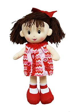 Linzy Jocelyn Rag Doll, Valentine Collection, Red 16