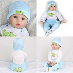 """Kaydora Reborn Baby Doll Boy 22"""" Soft Weighted Body Cute Lif"""