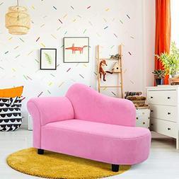 Costzon Kids Chaise Lounge Sofa Couch Set Children Modern Se
