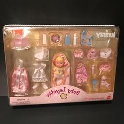 BABY KRISSY Layette set NIP 1999 Mattel doll clothes accesso